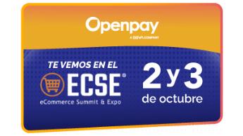 Openpay presente en el ECSE 2019